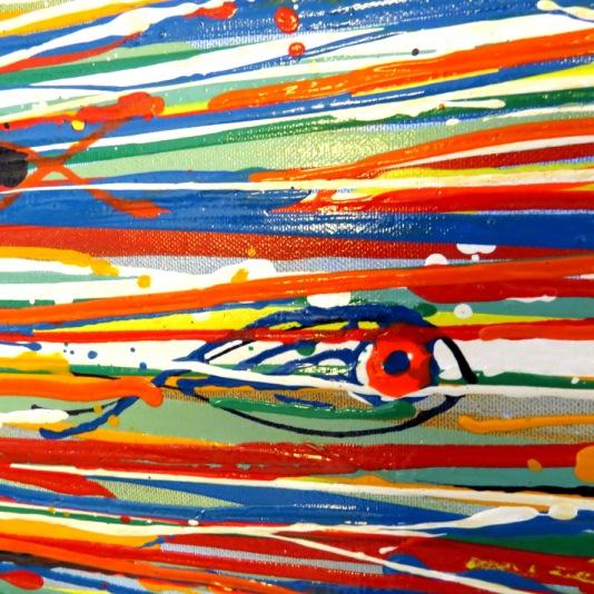 ציור אקריליק מאת סטודיו לאומנות, תל אביב - איריס עשת כהן