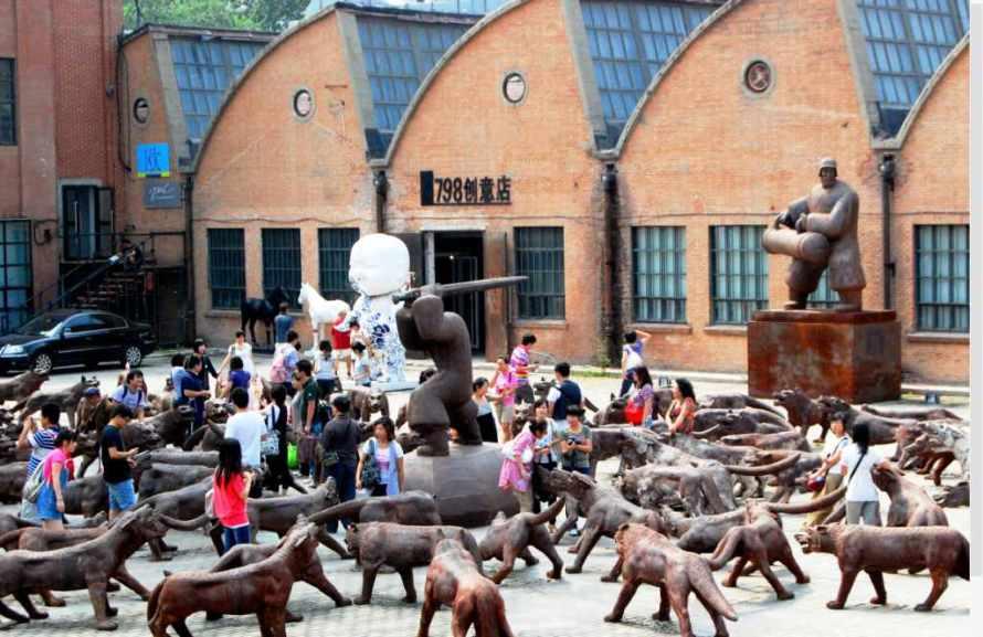 מתחם 798 בבייג'ינג. צילום: איריס עשת כהן