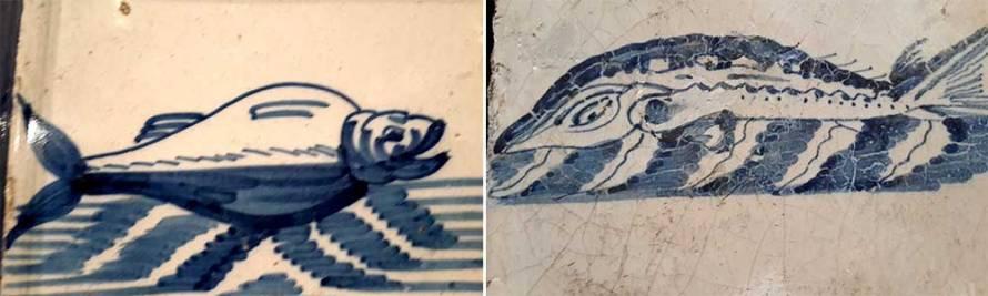 מתוך תערוכת דלפט כחול־לבן במוזיאון תל אביב לאומנות. צילום: איריס עשת כהן.