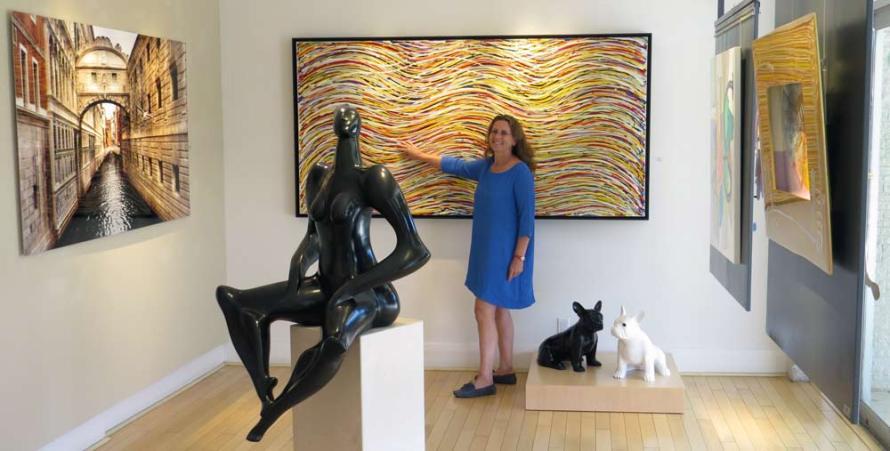 Blue Gallery במיאמי. איריס עשת כהן.