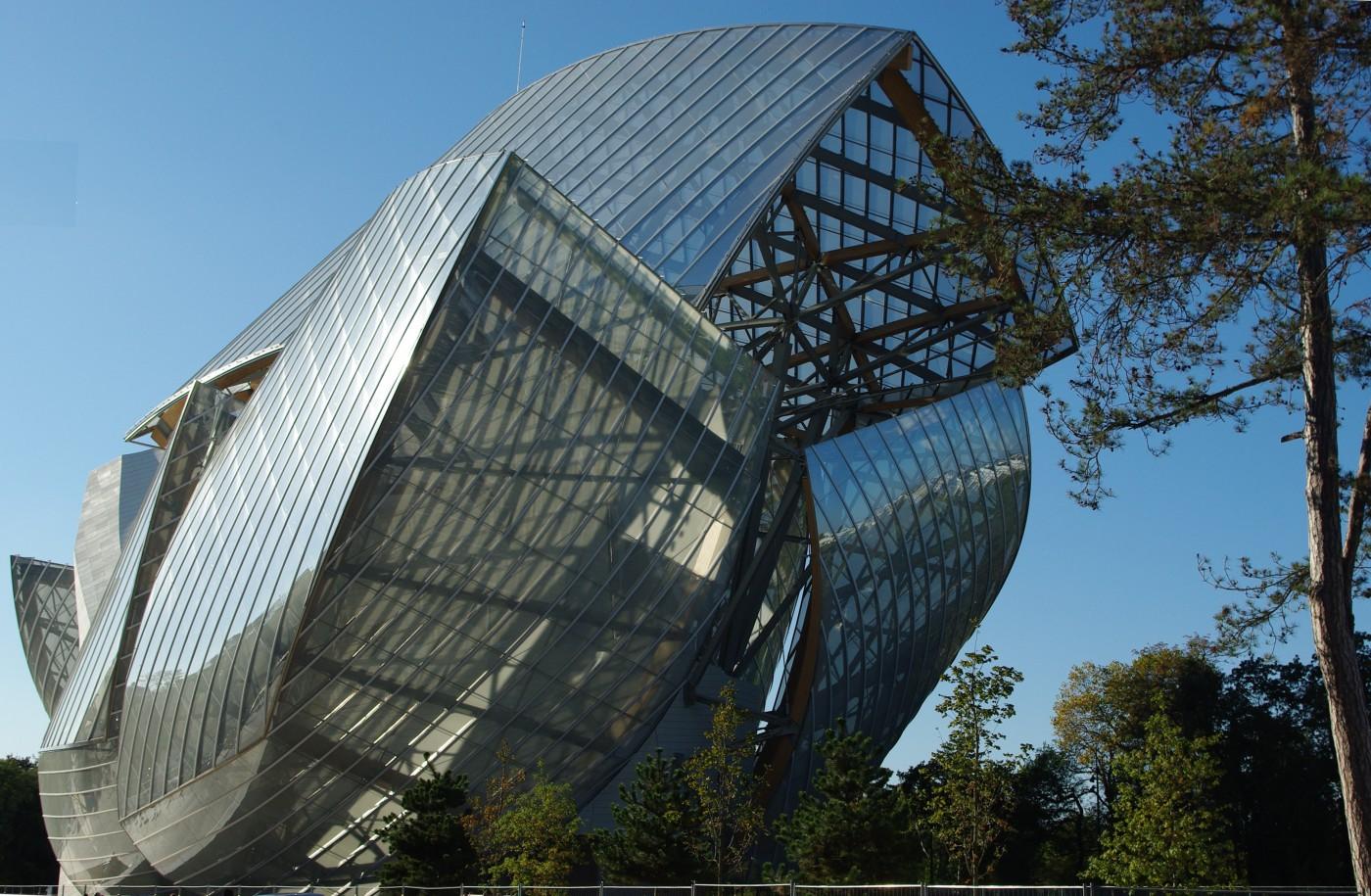 מוזיאון לואי ויטון, צילום מבחוץ. צילום: Olevy ברישיון CC-BY-SA-4.0