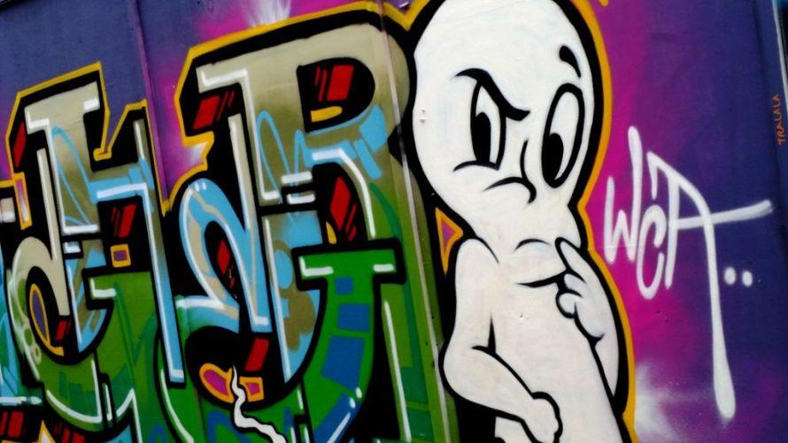 אמנות רחוב בלונדון - איריס עשת כהן