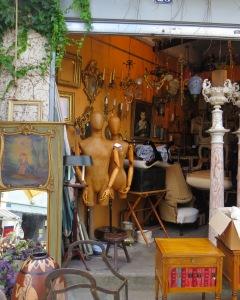 איריס עשת כהן, שוק פריס, פריז, אומנות צרפתית