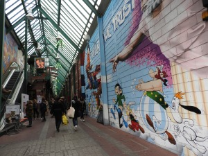 שוק בפריז, איריס עשת כהן, אומנות