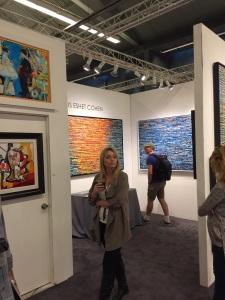 איריס עשת כהן - תערוכה בסן דייגו - אומנות ישראלית