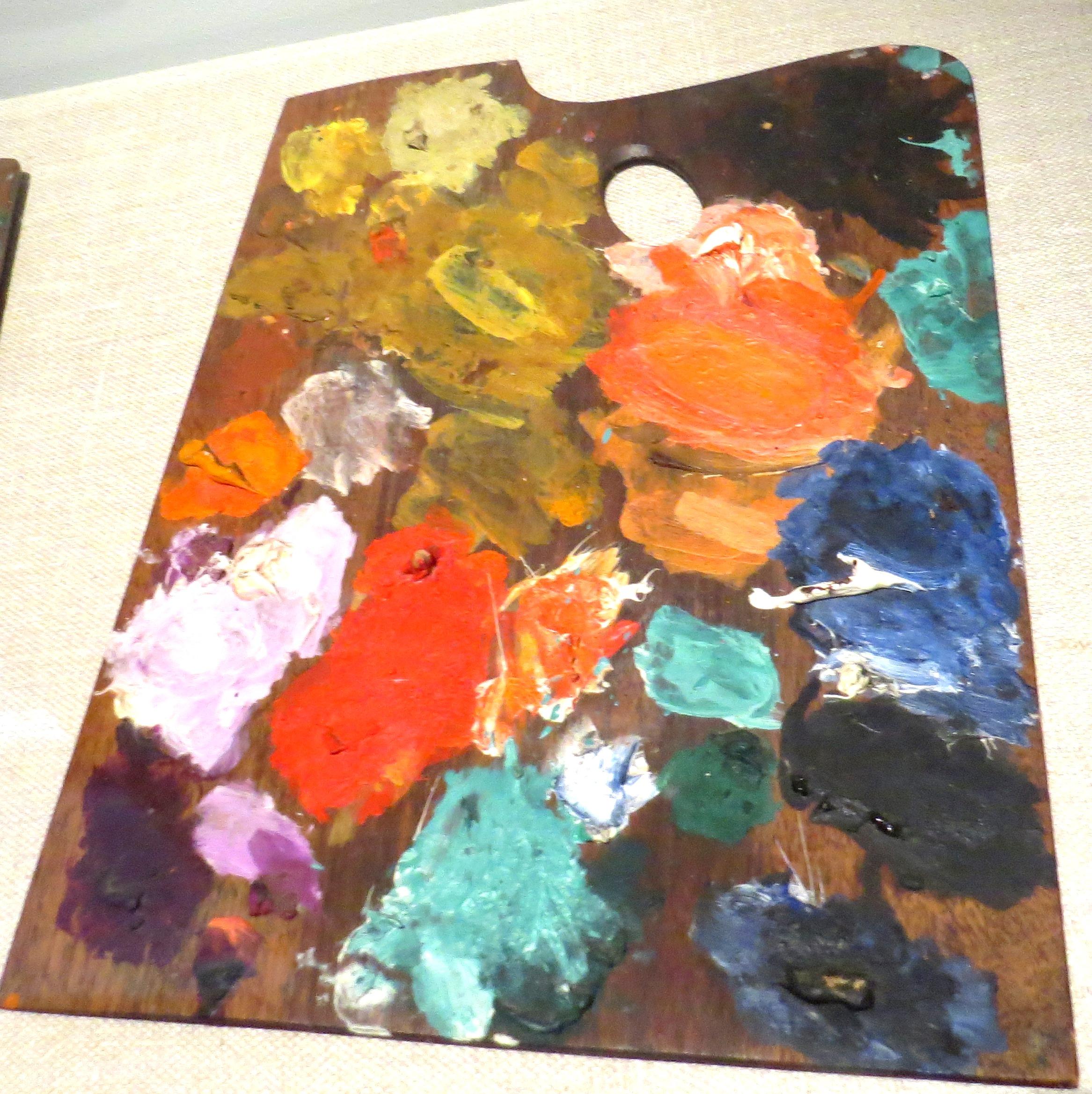 פלטת הצבעים של מאטיס